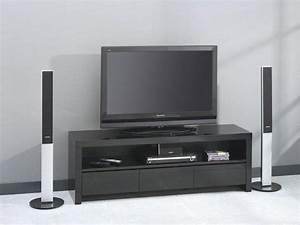 Meuble Tv Noir : meuble tele 43 fournisseurs sur ~ Teatrodelosmanantiales.com Idées de Décoration