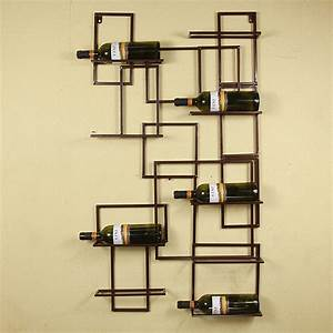 Quot black bronze select wall mounted bottle holder