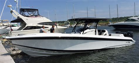 Nortech Boats Canada by Nor Tech 34 Center Console Hits 88 Mph