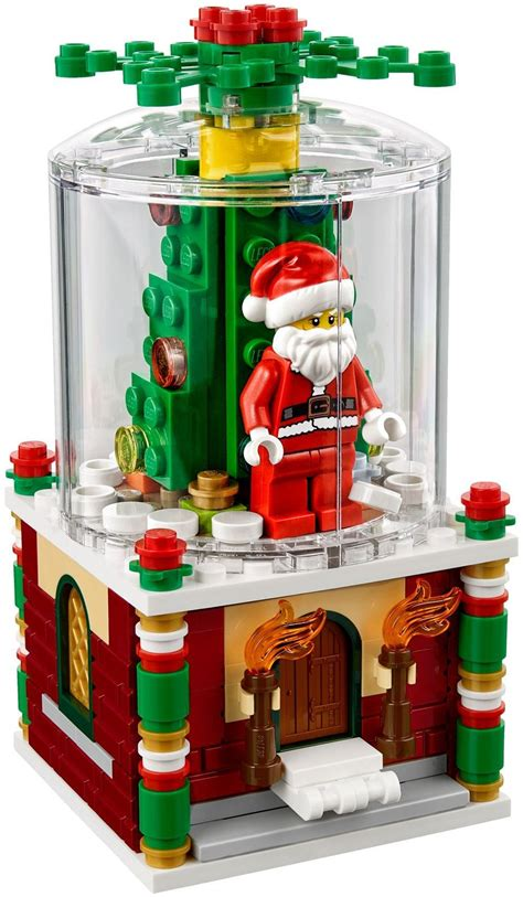 lego for lego 40223 exclusive limited edition snowglobe display frames for lego minifigures