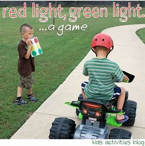 RED LIGHT GREEN LIGHT – WITH MONSTER TRAX - Kids Activities