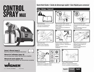 Wagner Control Spray Max User Manual