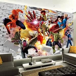 Avengers Wallpaper 3d Photo Wallpaper Hulk Iron Man ...