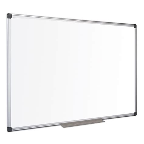 fourniture de bureau professionnel bi office tableau blanc laqué 90 x 60 cm tableau blanc