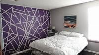 easy wall painting ideas Easy Wall Painting Ideas Tape Paint Artwork - Tierra Este | #88657