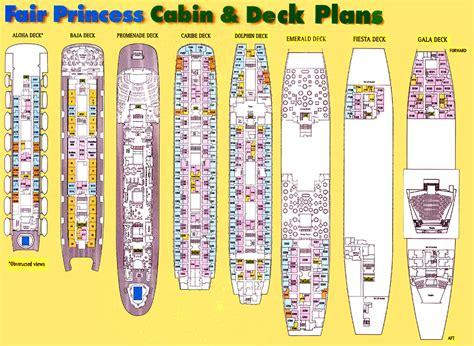 princess deck plans ships sitrmar cruises tss fairsea fairwind of 1971 72 deck