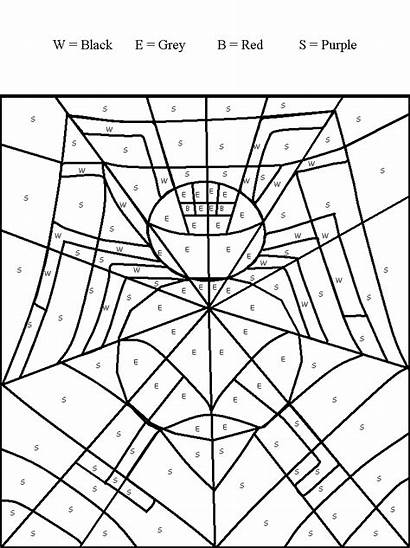 Coloring Web Spider Charlotte Printable Pages Letter