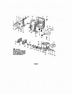 Craftsman 358797560 Gas Leaf Blower Parts