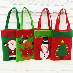 Fashion Arts And Crafts Handmade Fabric Christmas