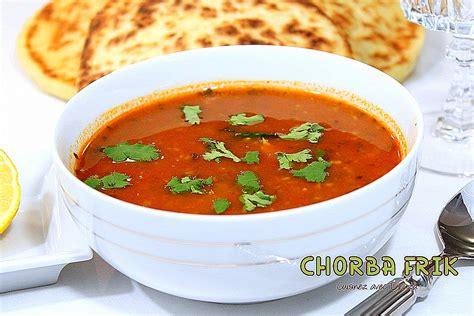 cuisine traditionnelle algeroise chorba frik soupe algérienne au blé recettes faciles
