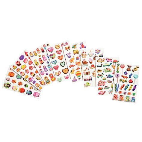 promotion stickers d 233 co 3d cooky pochette de 160 chez