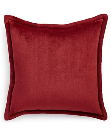 macys throw pillows charter club cozy plush 20 quot square decorative pillow only