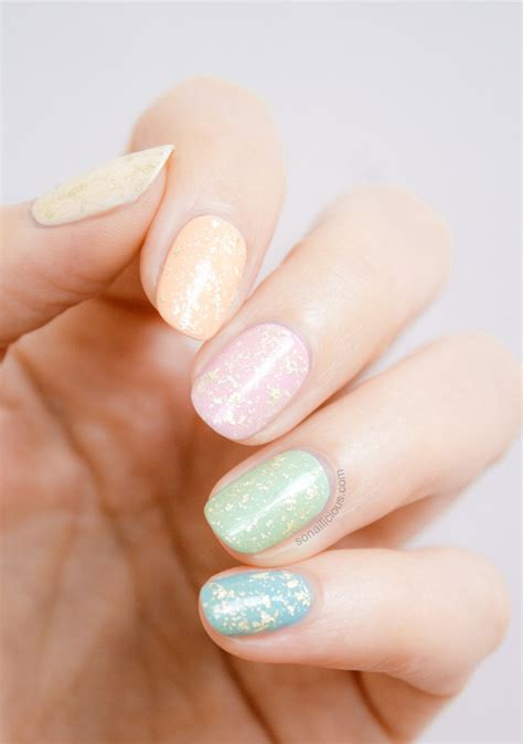 opi pure  strikes   easter egg nails  time