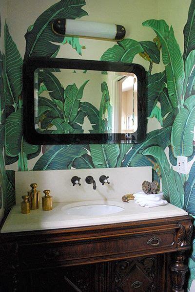 tropical walls decor tropical bathroom bathroom wallpaper