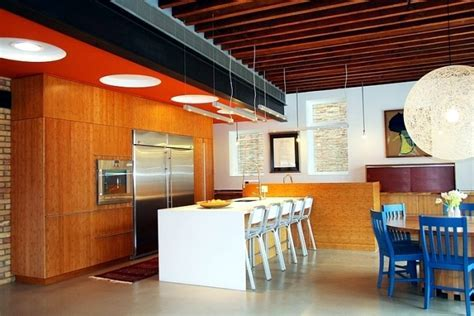 An old school house in Chicago turned into modern