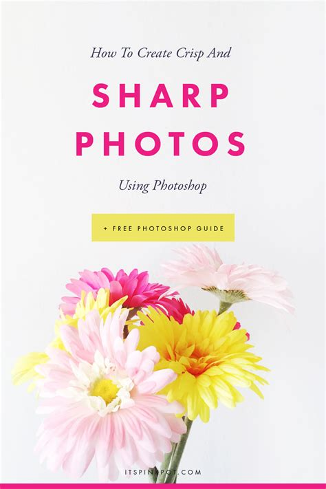 How To Create Clear And Sharp Photos Using Photoshop  Pinkpot Studio