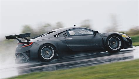 TSR 2019 Acura : Acura's Publicly Testing The Nsx Gt3 Race Car At Mid-ohio