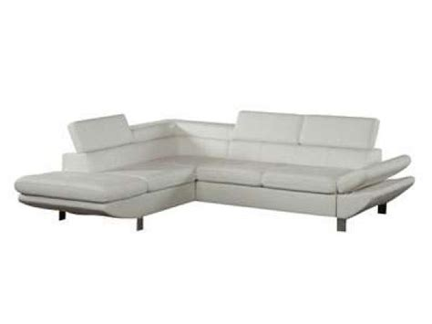 photos canap 233 d angle cuir convertible conforama