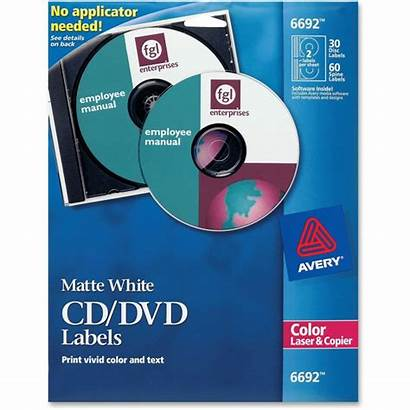 Cd Avery Dvd Labels Laser Label Matte
