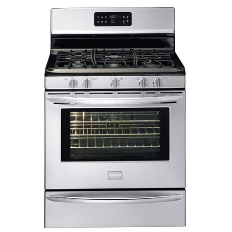shop frigidaire gallery 5 burner freestanding 5 cu ft self cleaning convection gas range