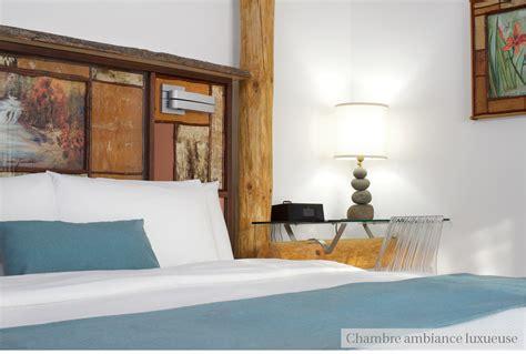chambre luxueuse hébergement et spa santé le baluchon