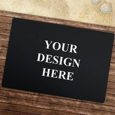 Design Doormats by Front Door Mat Personalized Doormat Outdoor Mat Custom