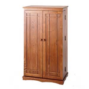 leslie dame mission style multimedia cabinet dark oak cd
