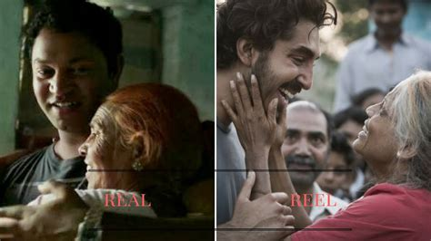 real scene photos 2016 lion movie saroo 39 s real life mother reveals her pain