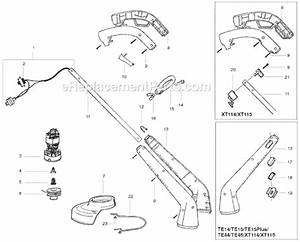 Weed Eater Xt114 Parts List And Diagram