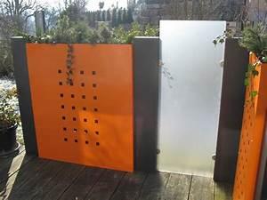Metall Im Garten : sichtschutz garten metall kunstrasen garten ~ Lizthompson.info Haus und Dekorationen