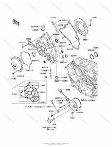 Kawasaki Side By Side 2009 Oem Parts Diagram For Engine