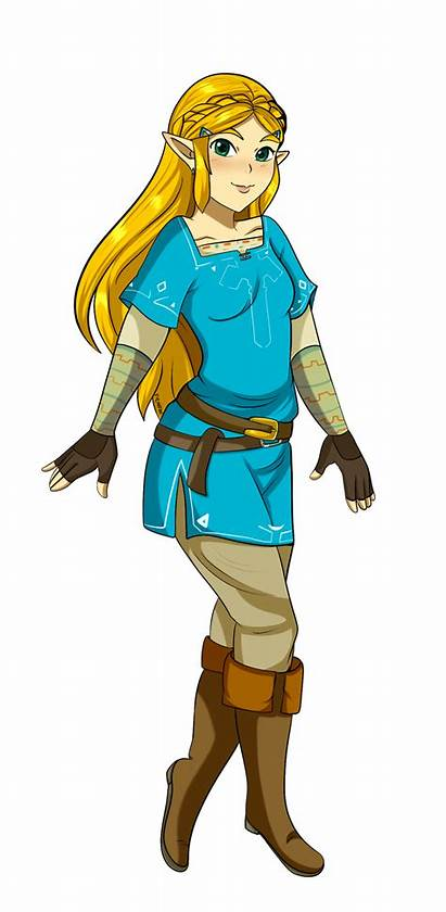 Tunic Zelda Champion Link Wearing Outfit Drawing