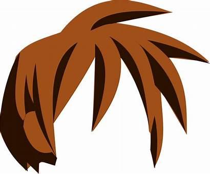 Clipart Cheveux Manga Clip Hair Transparent Brown