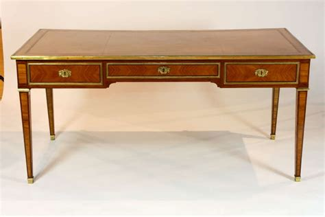 louis xvi style bureau plat for sale at 1stdibs