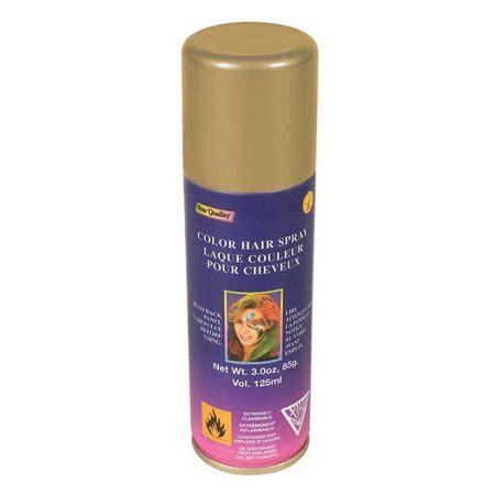 temporary color gold hairspray hair spray walmartcom