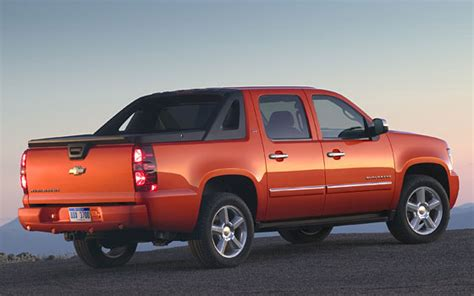 Consumer Reports Names Chevrolet Avalanche As A Top Pick