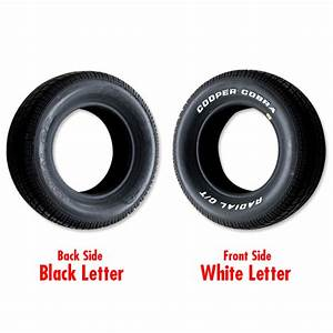 cooper radial gt raised white letter tire p255 60r 15 With cooper white letter tires
