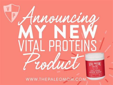 Announcing My New Vital Proteins Product!  The Paleo Mom