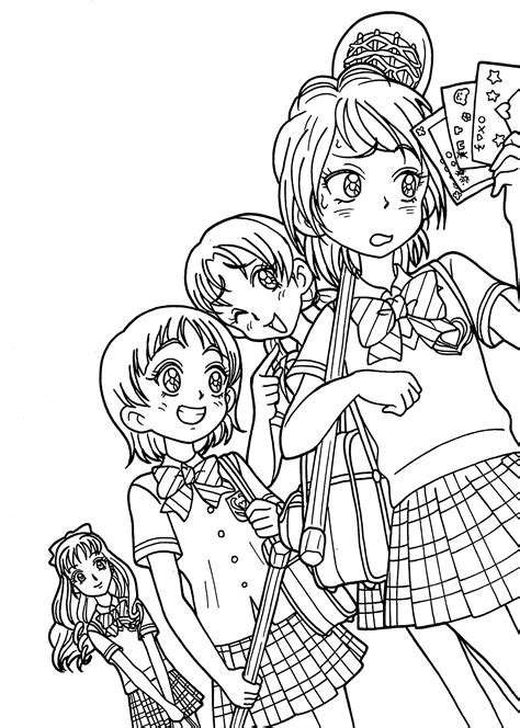Anime Coloring Pages Coloring Pages For Children
