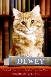 bret witter 187 dewey the small town library cat who