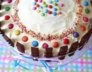 Kuchen 1 Geburtstag Mädchen : kinderriegel torte rezept anleitung torte ~ Frokenaadalensverden.com Haus und Dekorationen