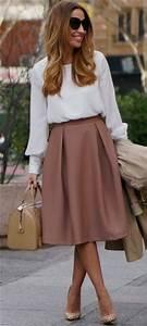 Como usar una falda midi en invierno 50 outfits con falda midi - fashion-style.es