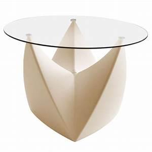 Plateau De Verre Pour Table : plateau en verre pour tabouret table basse mr lem jardinchic ~ Melissatoandfro.com Idées de Décoration