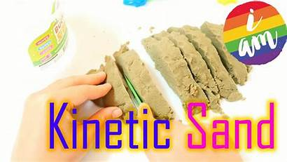 Sand Kinetic Toys Diy Play Children Learning