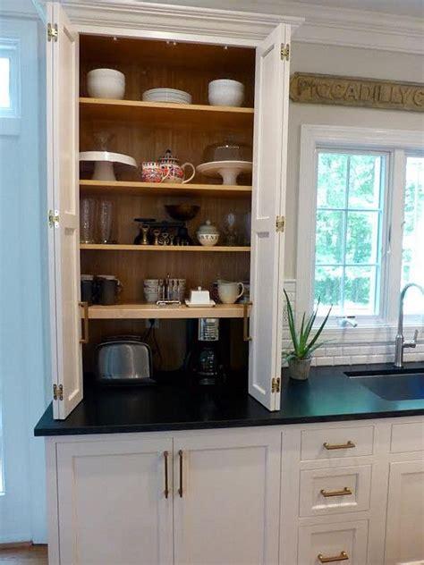 kitchen cabinet appliance storage 25 best ideas about appliance cabinet on