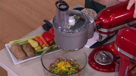kitchenaid premium stand mixer  food processor