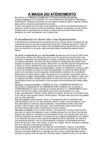 39 DICAS PARA UM BOM ATENDIMENTO (LIVRO A MAGIA DO