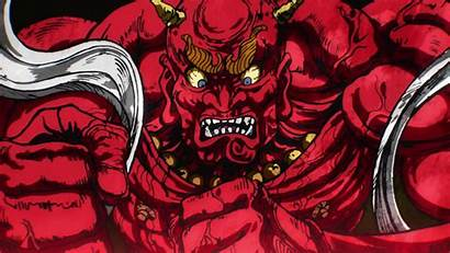 Oni Wallpapers Level Demon Punch Threat Mask