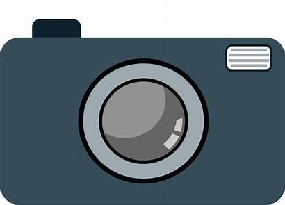 Camera Clip Clipart Cartoon Heart Cameras Cliparting
