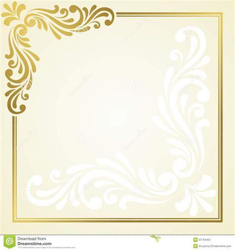 floral invitation card stock image image